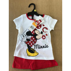 Tshirt en shortje Minnie Mouse