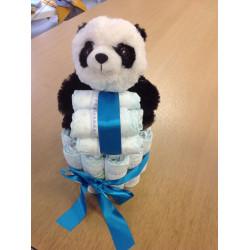 Pampertaart Panda Jongen