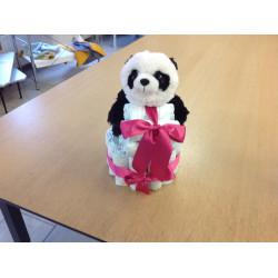 Pampertaart Panda Meisje