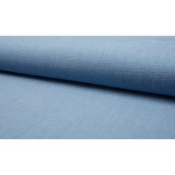Stonewashed Linnen jeans blauw