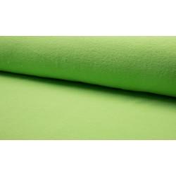 Katoenfleece lime