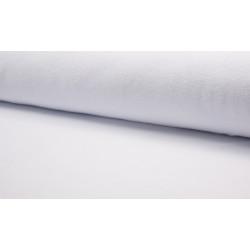 Katoen Fleece optisch wit