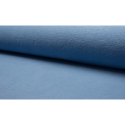 Katoenfleece Dusty Blue
