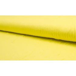 Single Jersey Creased geel