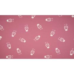 canvas roze leeuwtje