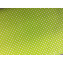 neon groen retro bolletjes