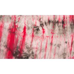 tie dye rood